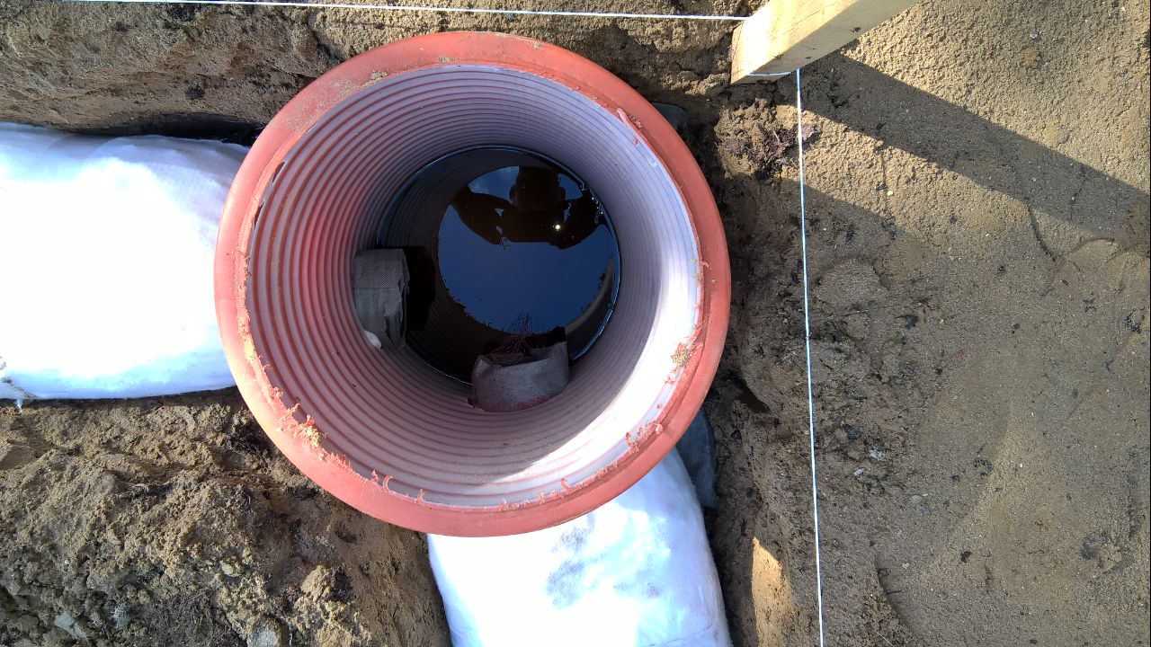 Как сделать дренажную трубу из канализационной 595